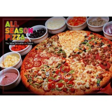 All Season Gulliver Pizza (20 Inch)